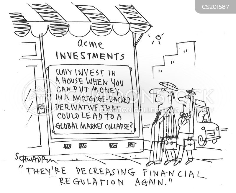 financial regulations cartoon