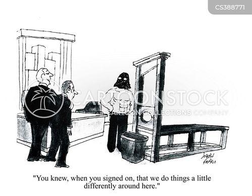sign on cartoon