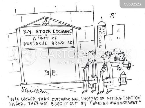foreign labor cartoon