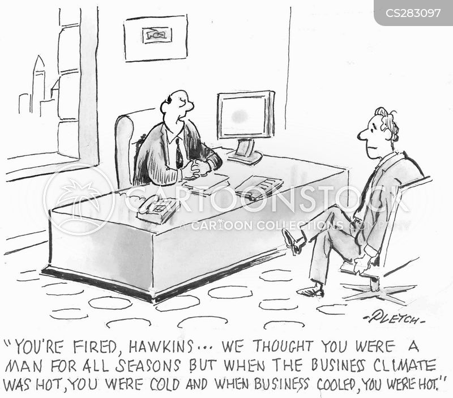 business climate cartoon