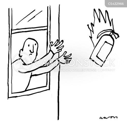 fire protocols cartoon