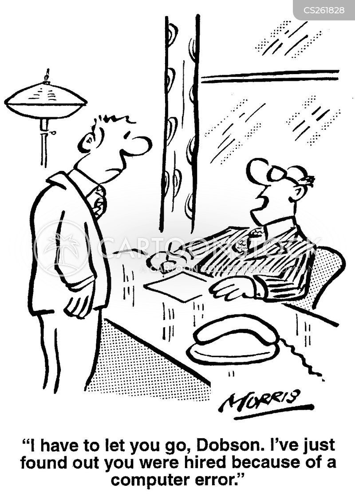 clerical errors cartoon