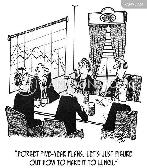 strategy meeting cartoon