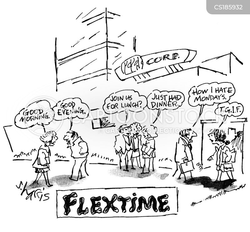 time delays cartoon