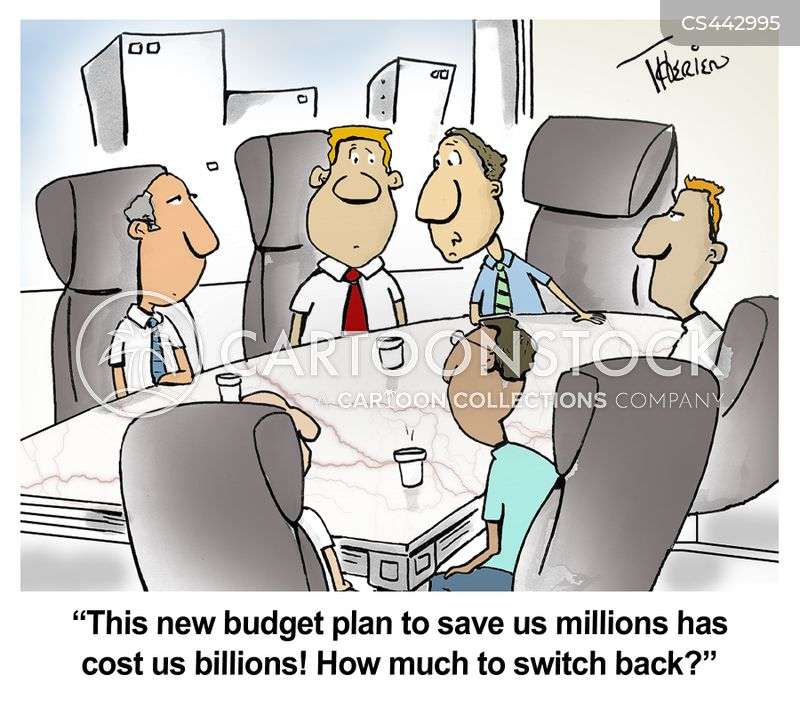 Budget Plans Cartoons And Comics  Funny Pictures From Cartoonstock