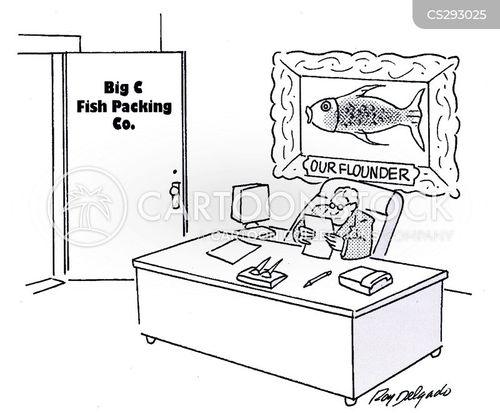 flounder cartoon