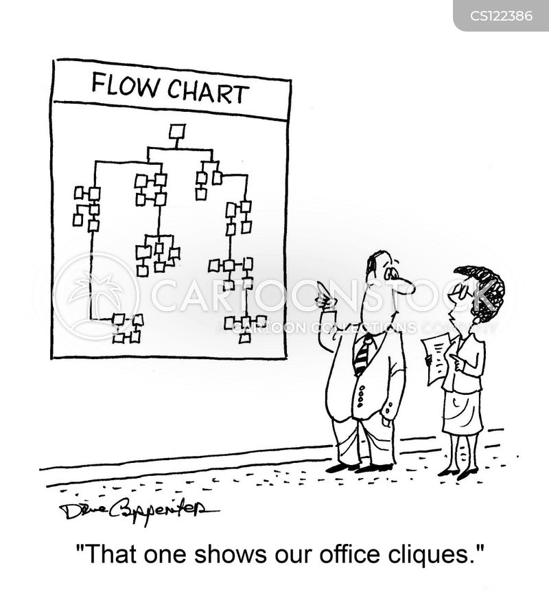 office structure cartoon