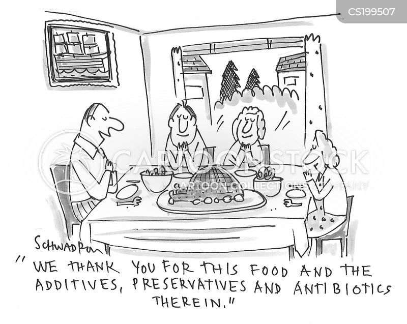 preservatives cartoon