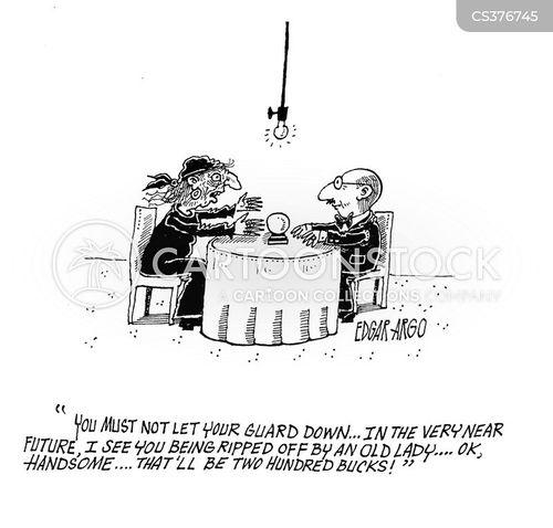 fortune reader cartoon