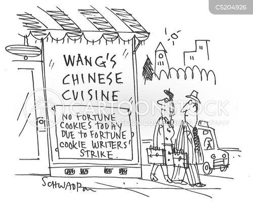 chinese cuisine cartoon