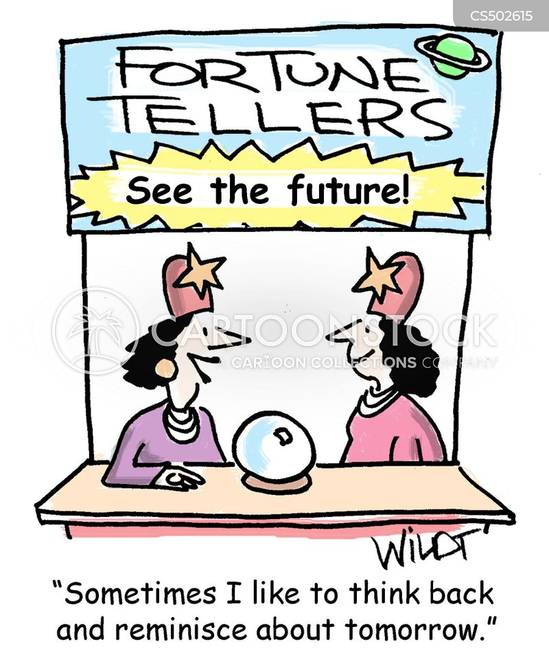 predicting the future cartoon