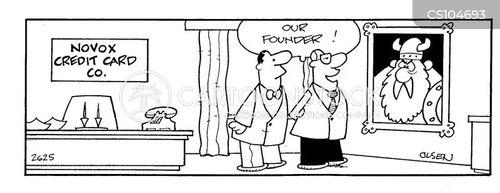 founding cartoon
