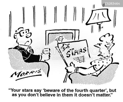 fourth quarter cartoon