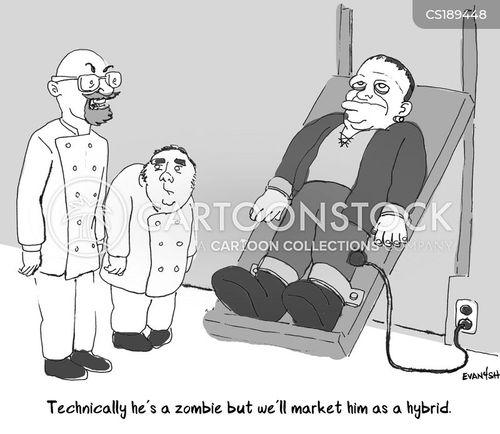 advertising strategies cartoon
