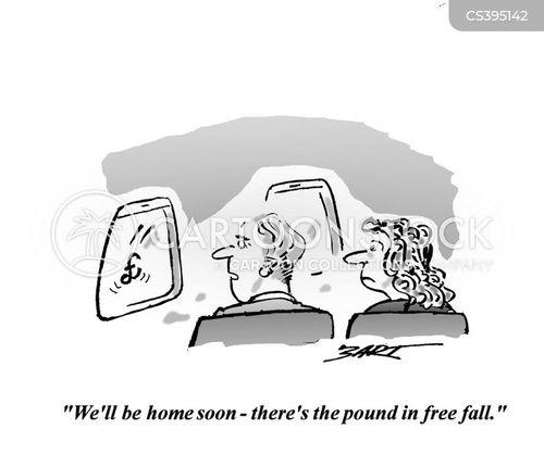 free fall cartoon