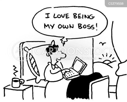 flexible working hours cartoon