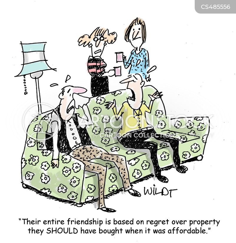 affordable property cartoon