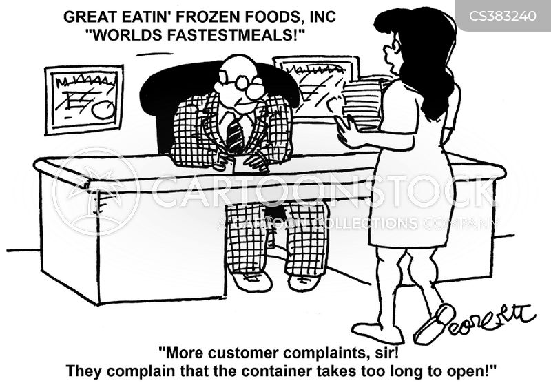 frozen meals cartoon
