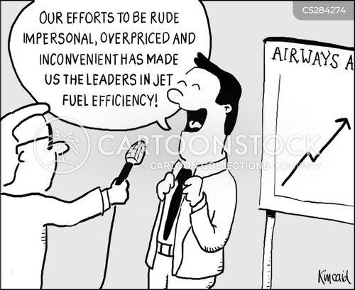 fuel efficiency cartoon