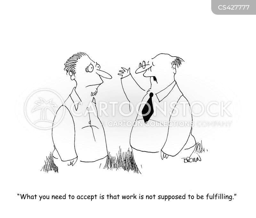 personal satisfaction cartoon