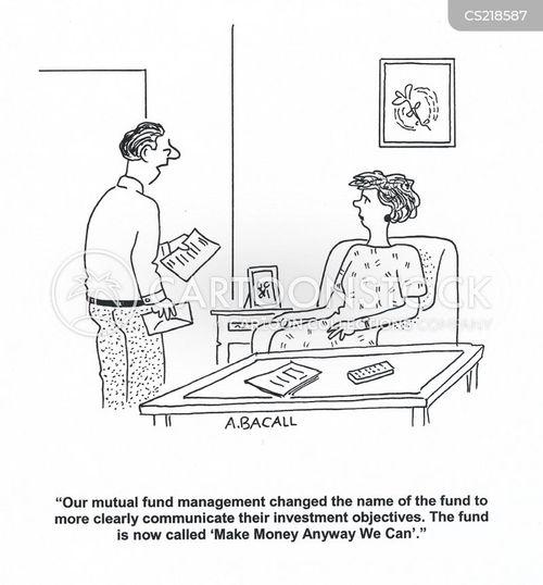 fund management cartoon