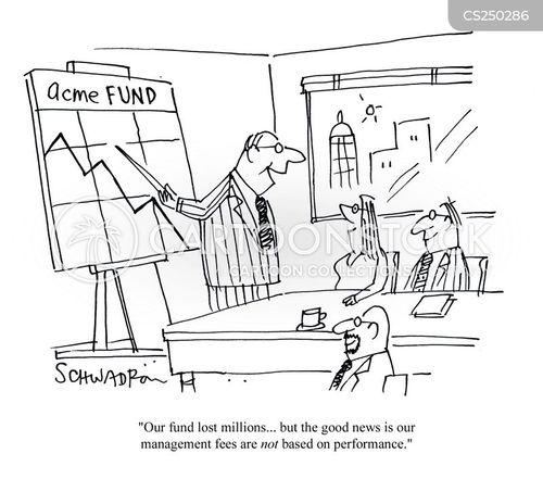 management fees cartoon