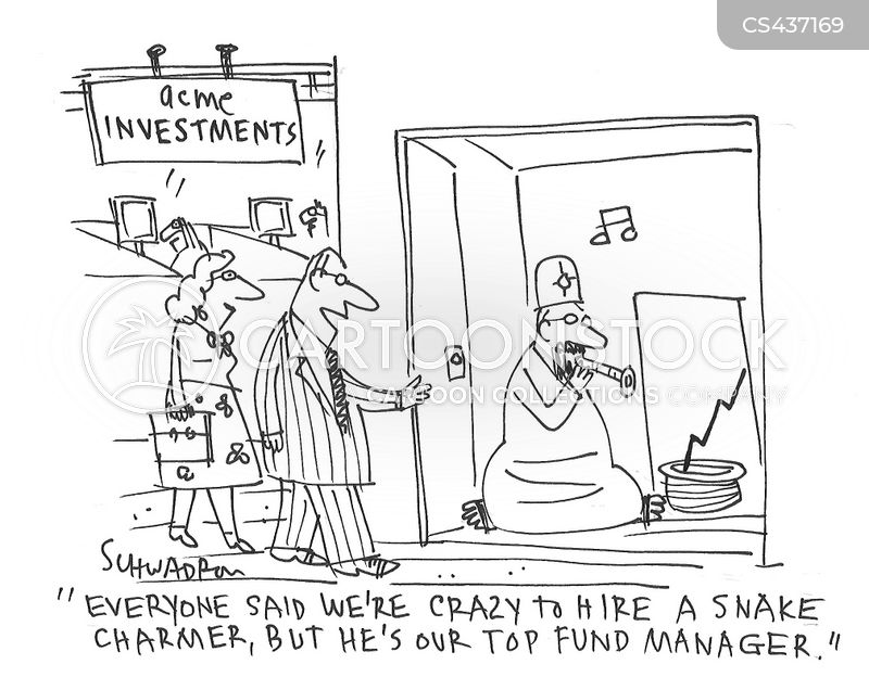 snake charming cartoon