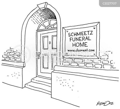 dead as a doornail cartoon