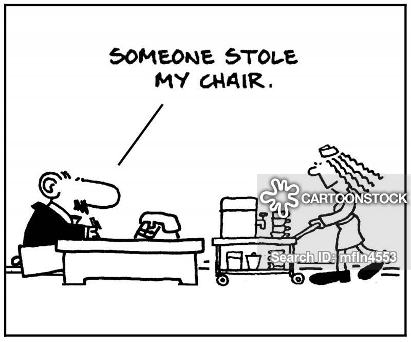 office chairs cartoon