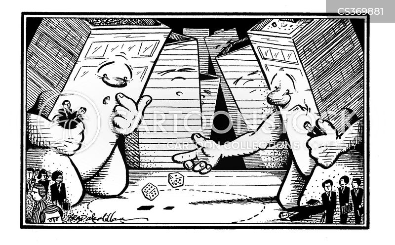 roll of the dice cartoon
