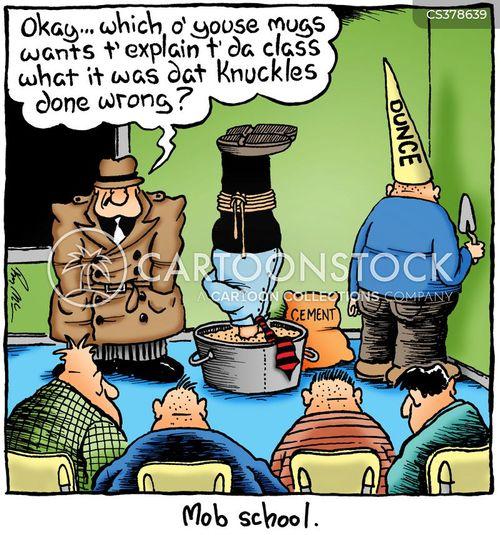 the mob cartoon