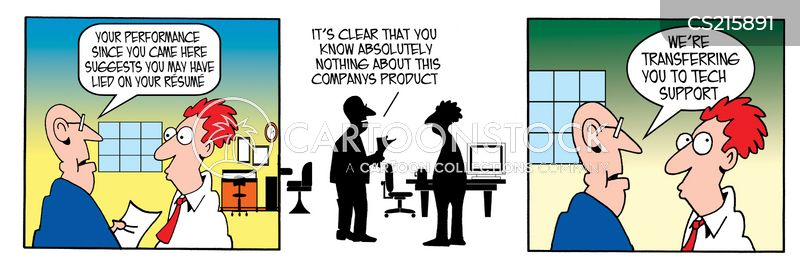 product knowledge cartoons and comics