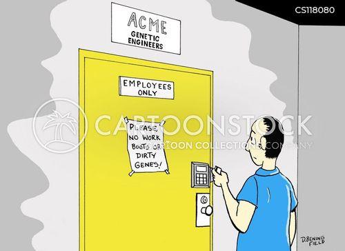 contaminants cartoon