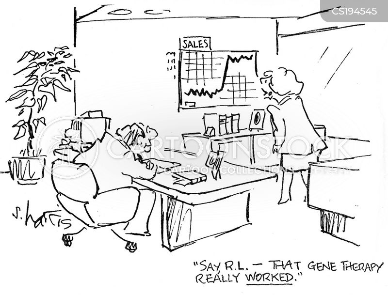 rising profits cartoon