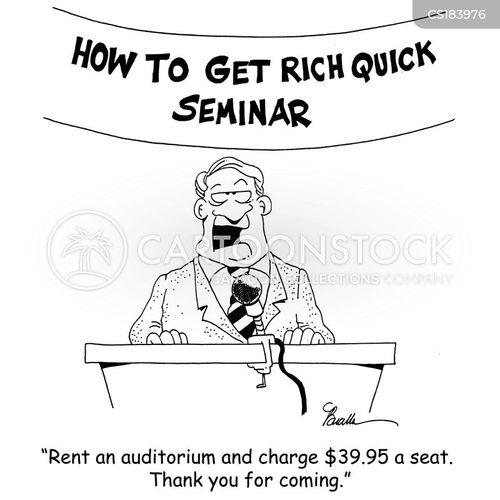get rich cartoon