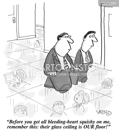 workplace discrimination cartoon