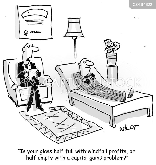 capital gains cartoon