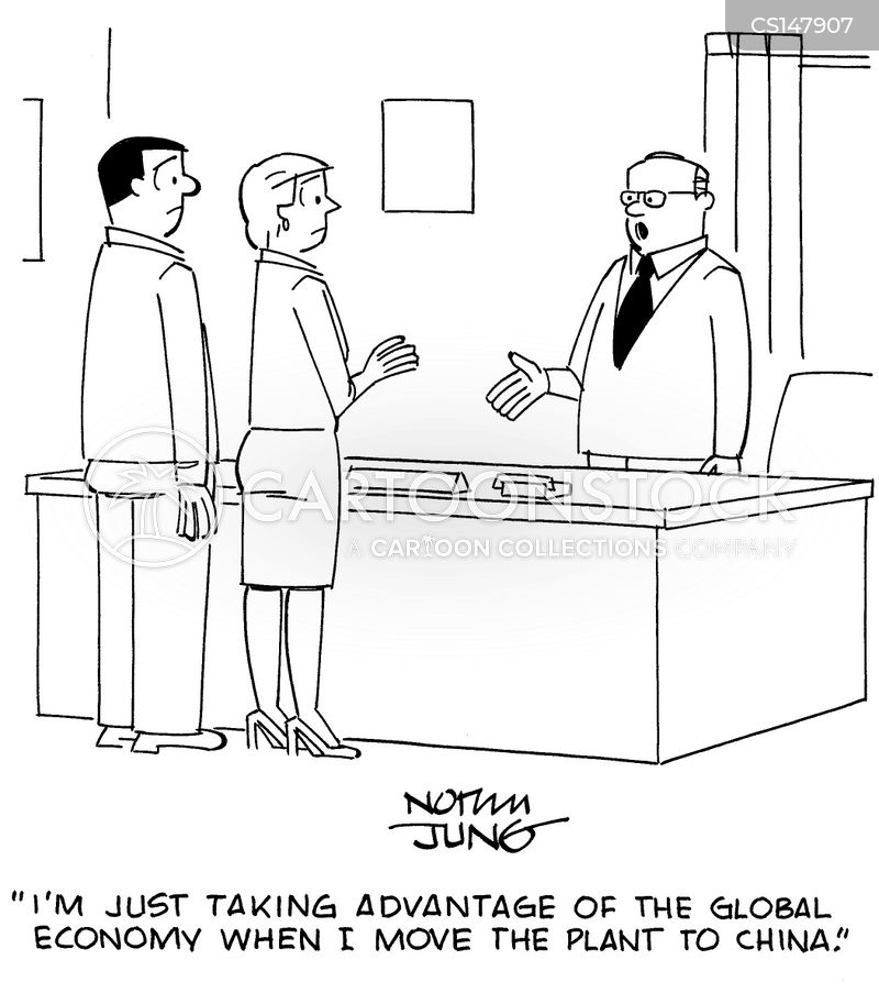 manufacturing job cartoon