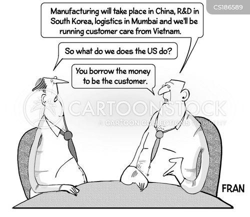 interdependent cartoon