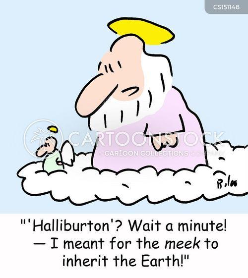 halliburton cartoon
