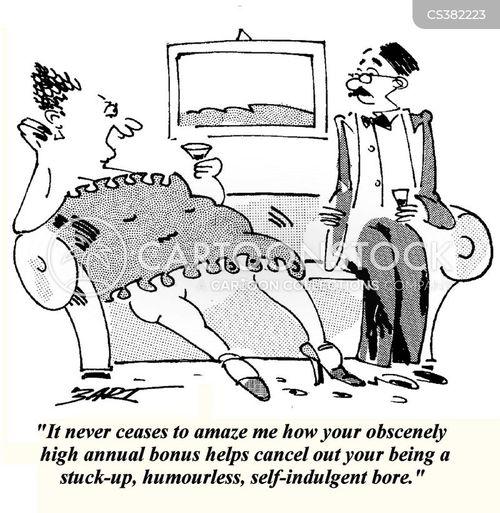 humorless cartoon