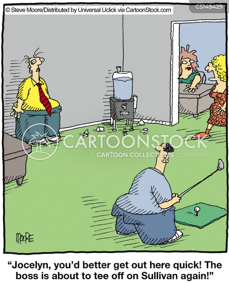 Golf Tee Cartoons And Comics Funny Pictures From Cartoonstock