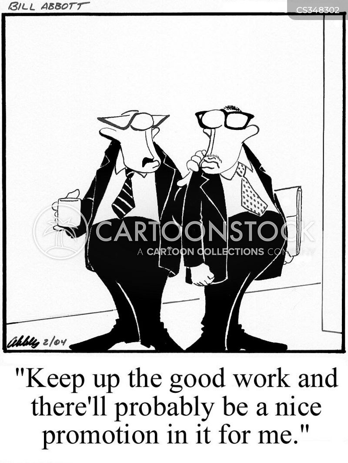 good work cartoon