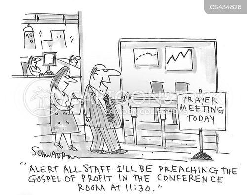 spiritual beliefs cartoon