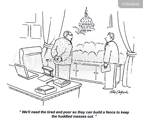 huddles cartoon
