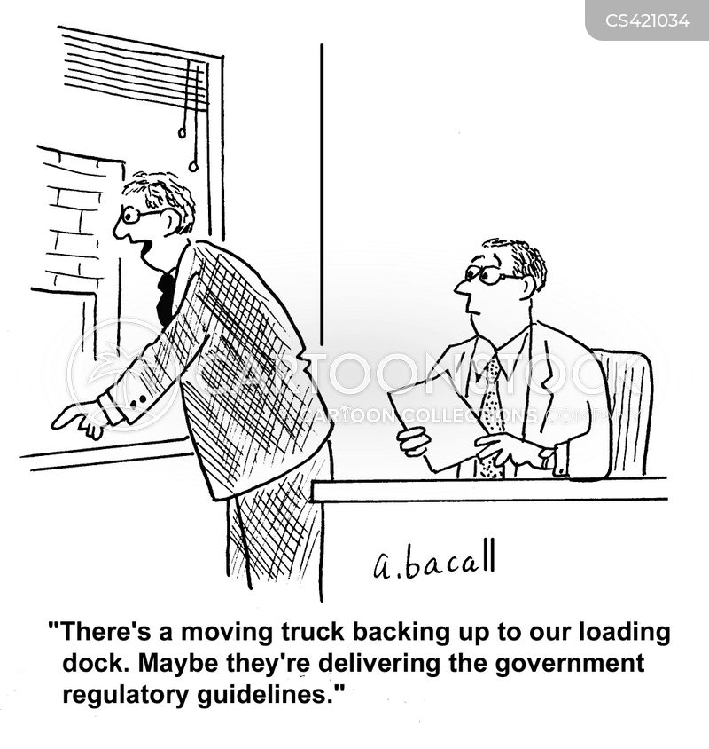 government guidelines cartoon