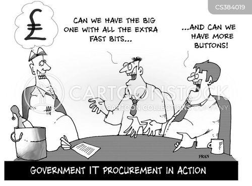 it system cartoon