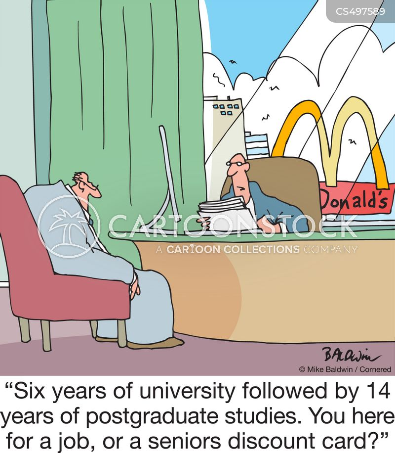 postgraduate studies cartoon