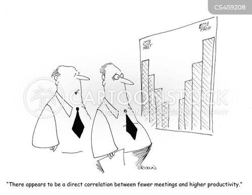 employee productivity cartoon