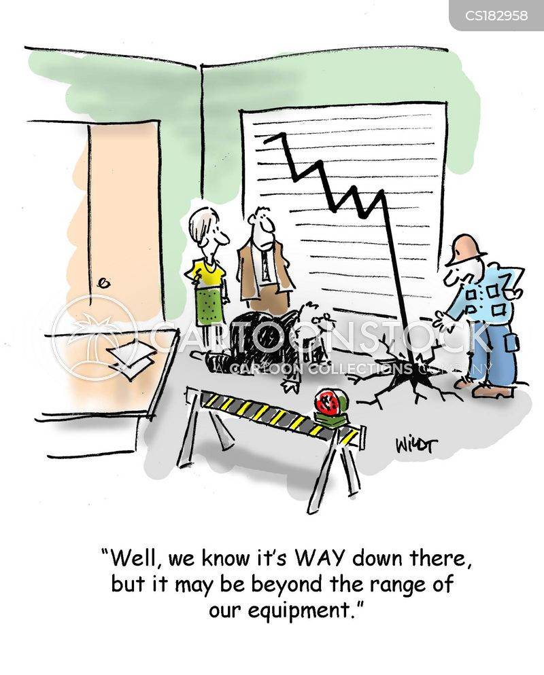 drilling cartoon